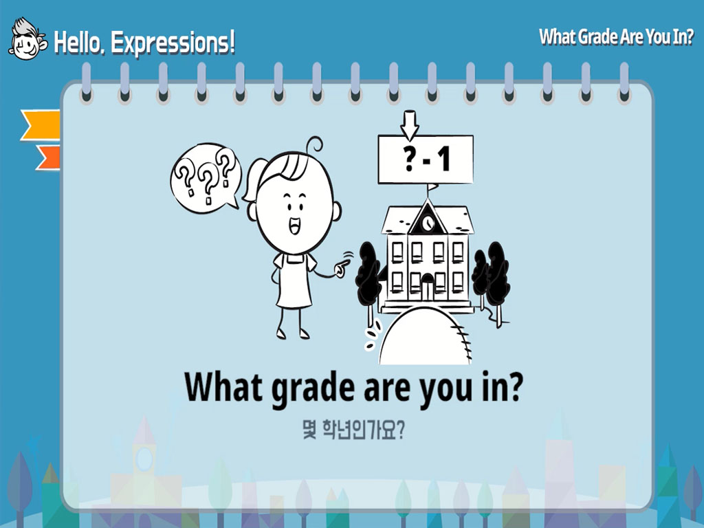 What Grade Are You In?: Hello, Expressions!