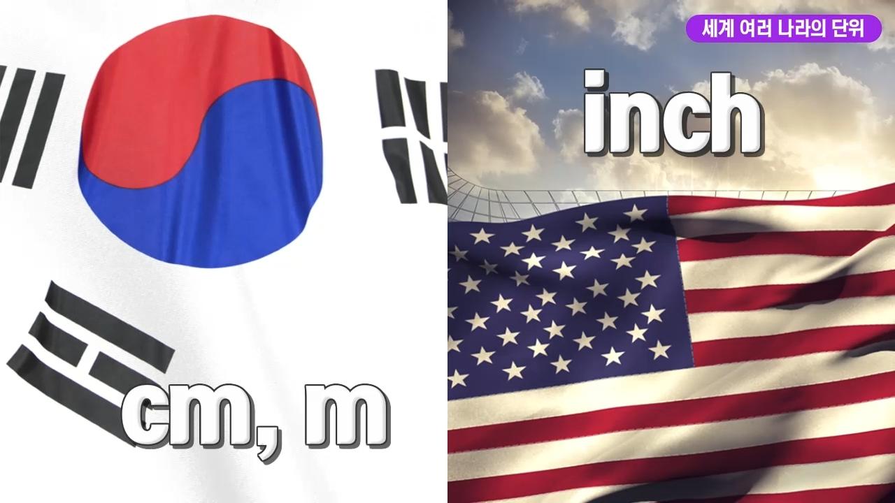 세계 여러 나라의 단위